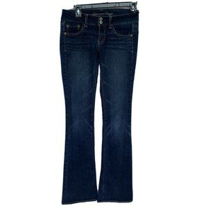 American Eagle Artist Flared Jeans 2 Long Stretch